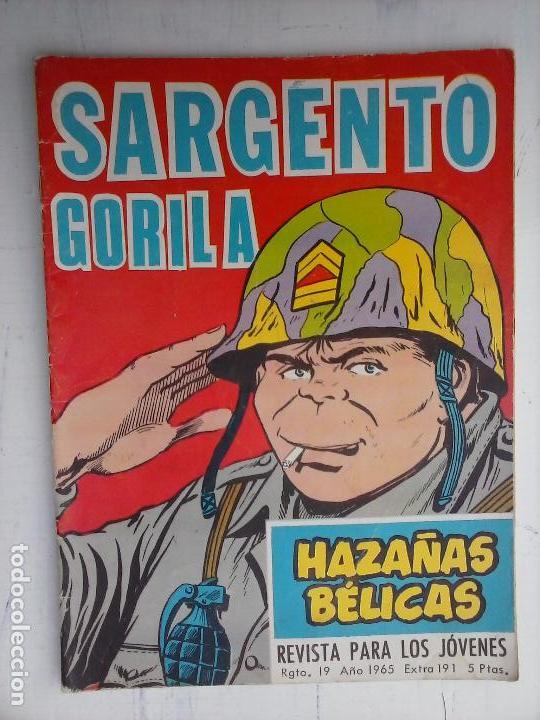 Tebeos: HAZAÑAS BÉLICAS GORILA LOTE 82 NºS - BUEN-MUY BUEN ESTADO, VER PORTADAS, TODAS - Foto 26 - 114517355