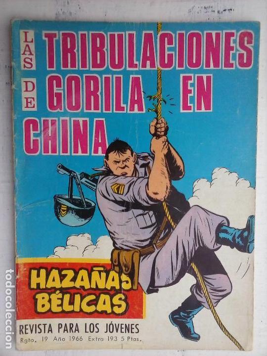 Tebeos: HAZAÑAS BÉLICAS GORILA LOTE 82 NºS - BUEN-MUY BUEN ESTADO, VER PORTADAS, TODAS - Foto 28 - 114517355