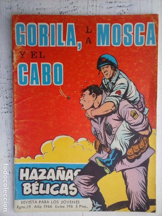 Tebeos: HAZAÑAS BÉLICAS GORILA LOTE 82 NºS - BUEN-MUY BUEN ESTADO, VER PORTADAS, TODAS - Foto 30 - 114517355