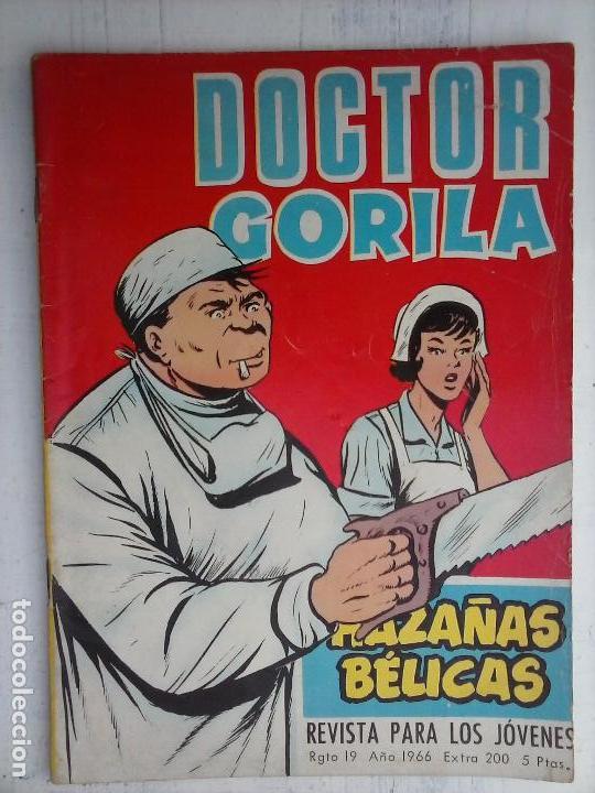 Tebeos: HAZAÑAS BÉLICAS GORILA LOTE 82 NºS - BUEN-MUY BUEN ESTADO, VER PORTADAS, TODAS - Foto 31 - 114517355