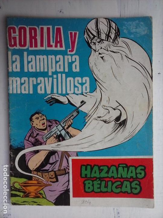 Tebeos: HAZAÑAS BÉLICAS GORILA LOTE 82 NºS - BUEN-MUY BUEN ESTADO, VER PORTADAS, TODAS - Foto 33 - 114517355
