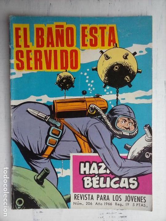 Tebeos: HAZAÑAS BÉLICAS GORILA LOTE 82 NºS - BUEN-MUY BUEN ESTADO, VER PORTADAS, TODAS - Foto 34 - 114517355