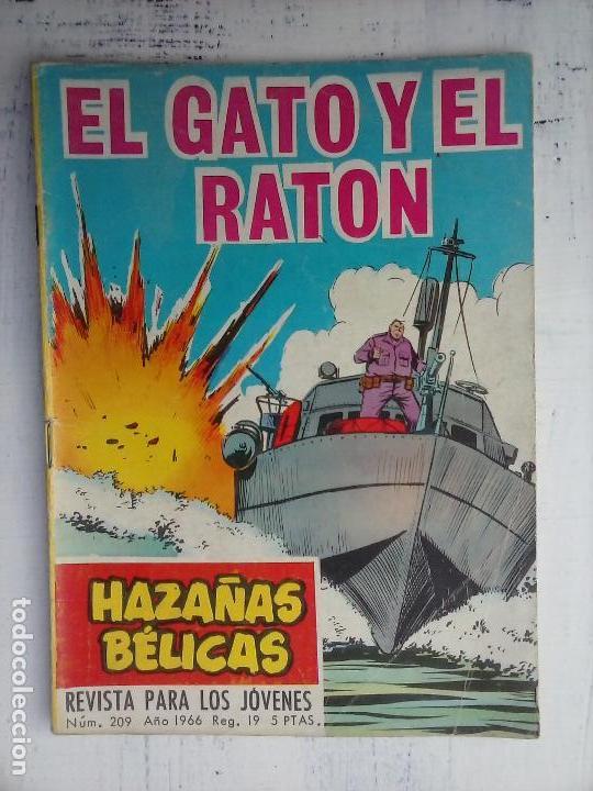 Tebeos: HAZAÑAS BÉLICAS GORILA LOTE 82 NºS - BUEN-MUY BUEN ESTADO, VER PORTADAS, TODAS - Foto 37 - 114517355