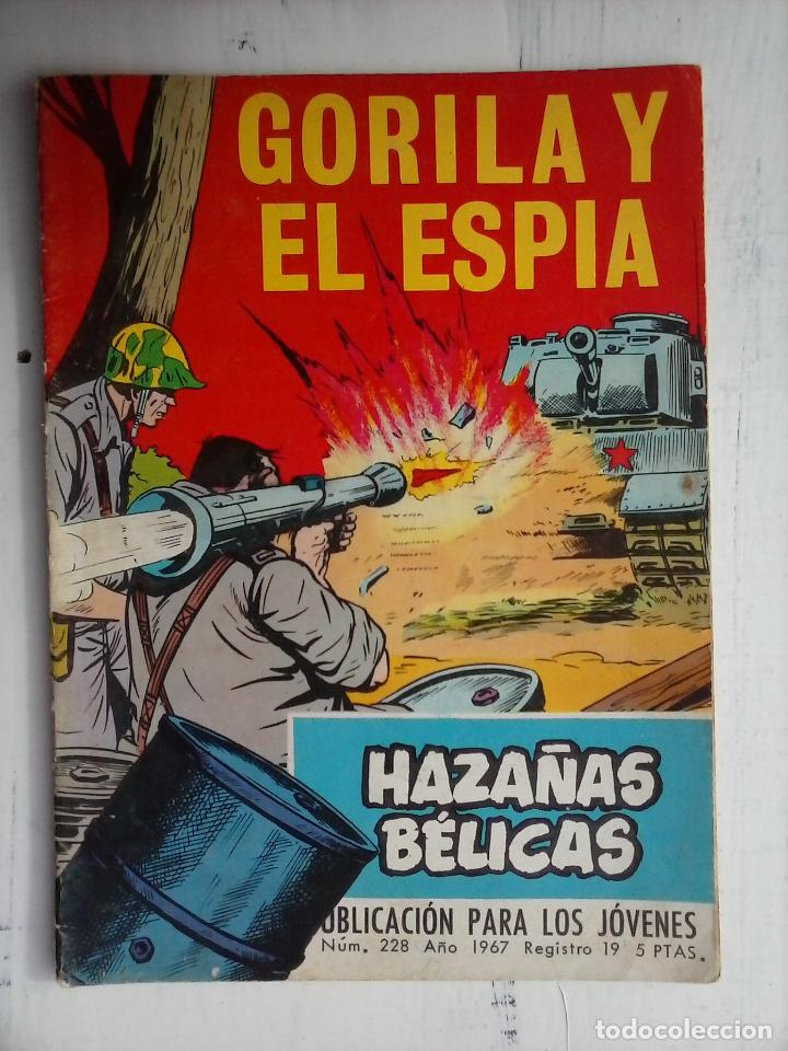 Tebeos: HAZAÑAS BÉLICAS GORILA LOTE 82 NºS - BUEN-MUY BUEN ESTADO, VER PORTADAS, TODAS - Foto 45 - 114517355