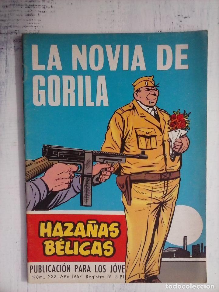 Tebeos: HAZAÑAS BÉLICAS GORILA LOTE 82 NºS - BUEN-MUY BUEN ESTADO, VER PORTADAS, TODAS - Foto 49 - 114517355