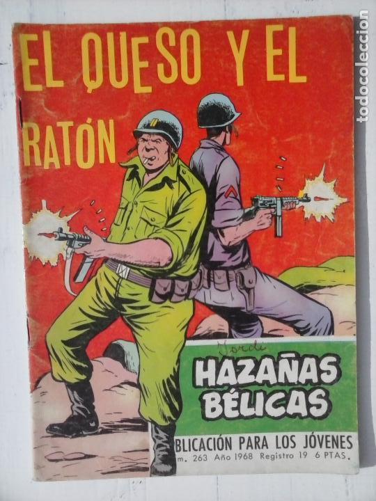 Tebeos: HAZAÑAS BÉLICAS GORILA LOTE 82 NºS - BUEN-MUY BUEN ESTADO, VER PORTADAS, TODAS - Foto 63 - 114517355