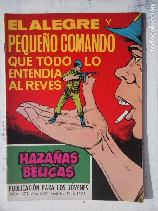 Tebeos: HAZAÑAS BÉLICAS GORILA LOTE 82 NºS - BUEN-MUY BUEN ESTADO, VER PORTADAS, TODAS - Foto 70 - 114517355