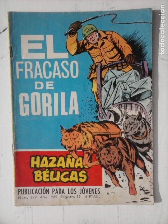 Tebeos: HAZAÑAS BÉLICAS GORILA LOTE 82 NºS - BUEN-MUY BUEN ESTADO, VER PORTADAS, TODAS - Foto 73 - 114517355