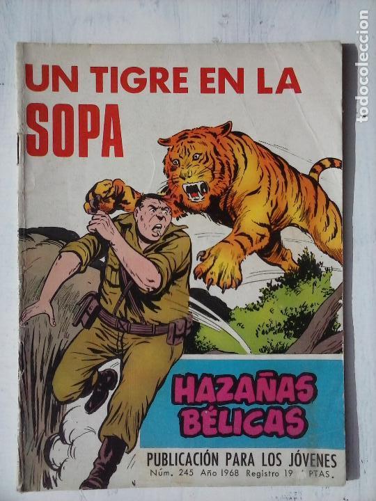 Tebeos: HAZAÑAS BÉLICAS GORILA LOTE 82 NºS - BUEN-MUY BUEN ESTADO, VER PORTADAS, TODAS - Foto 75 - 114517355