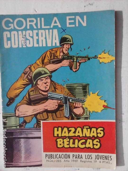 Tebeos: HAZAÑAS BÉLICAS GORILA LOTE 82 NºS - BUEN-MUY BUEN ESTADO, VER PORTADAS, TODAS - Foto 80 - 114517355