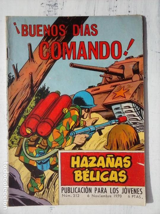 Tebeos: HAZAÑAS BÉLICAS GORILA LOTE 82 NºS - BUEN-MUY BUEN ESTADO, VER PORTADAS, TODAS - Foto 86 - 114517355