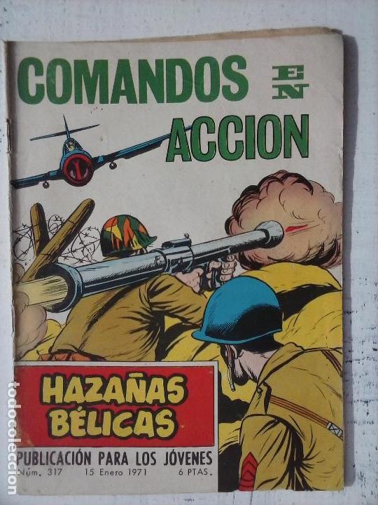 Tebeos: HAZAÑAS BÉLICAS GORILA LOTE 82 NºS - BUEN-MUY BUEN ESTADO, VER PORTADAS, TODAS - Foto 90 - 114517355