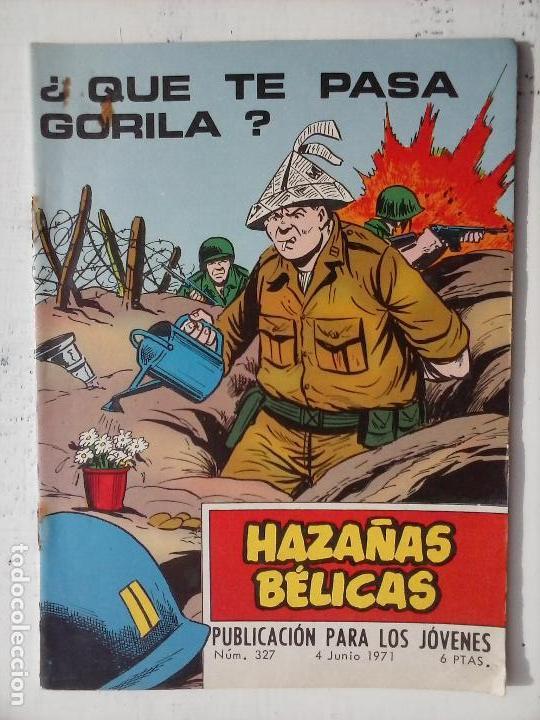 Tebeos: HAZAÑAS BÉLICAS GORILA LOTE 82 NºS - BUEN-MUY BUEN ESTADO, VER PORTADAS, TODAS - Foto 93 - 114517355