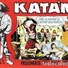 BDs: KATÁN - SELECCIÓN AVENTURERA- Nº 17 - GRAN JAIME BORCAL-1961-BUENO-ESCASO- LEAN- 8147. Lote 114645499