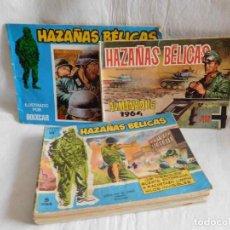 Tebeos: M69 LOTE 14 TEBEOS DE HAZAS BELICAS, INCLUYE UN ALMANAQUE 1964. . Lote 114655723