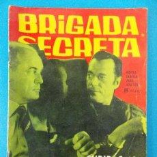 Tebeos: NOVELA GRAFICA - BRIGADA SECRETA Nº 34 - AÑO 1963.. R-8614. Lote 115051019
