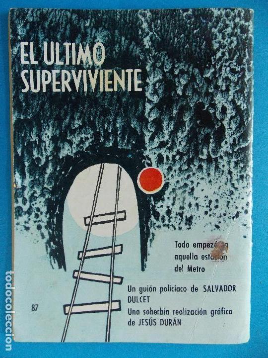 Tebeos: NOVELA GRAFICA - BRIGADA SECRETA Nº 87 - AÑO 1965 - EDICIONES TORAY... R-8616 - Foto 6 - 115053779