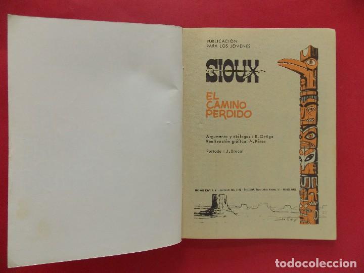 Tebeos: TEBEO, COMIC - SIOUX Nº 99 - 1968 - EL CAMINO PERDIDO - EDICIONES TORAY... R-8627 - Foto 2 - 115076131