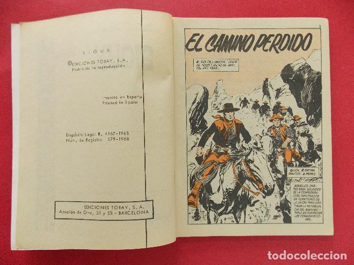Tebeos: TEBEO, COMIC - SIOUX Nº 99 - 1968 - EL CAMINO PERDIDO - EDICIONES TORAY... R-8627 - Foto 3 - 115076131