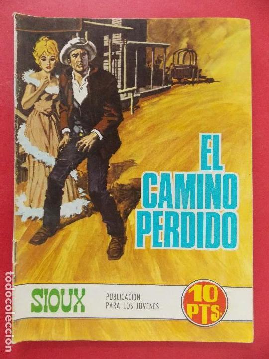 TEBEO, COMIC - SIOUX Nº 99 - 1968 - EL CAMINO PERDIDO - EDICIONES TORAY... R-8627 (Tebeos y Comics - Toray - Sioux)