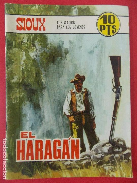TEBEO, COMIC - SIOUX Nº 102 - 1968 - EL HARAGAN - EDICIONES TORAY... R-8629 (Tebeos y Comics - Toray - Sioux)
