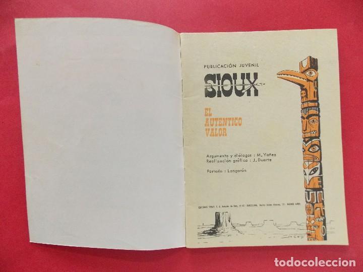 Tebeos: TEBEO, COMIC - SIOUX Nº 121 - 1968 - EL AUTENTICO VALOR - EDICIONES TORAY... R-8630 - Foto 2 - 115076931