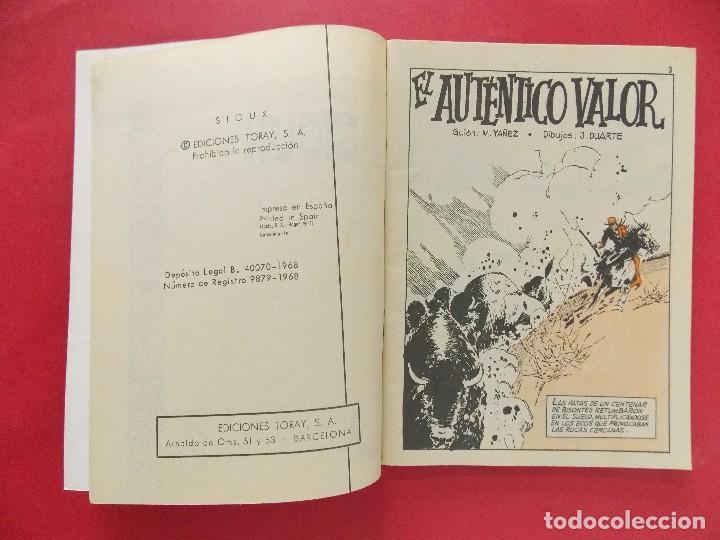 Tebeos: TEBEO, COMIC - SIOUX Nº 121 - 1968 - EL AUTENTICO VALOR - EDICIONES TORAY... R-8630 - Foto 3 - 115076931