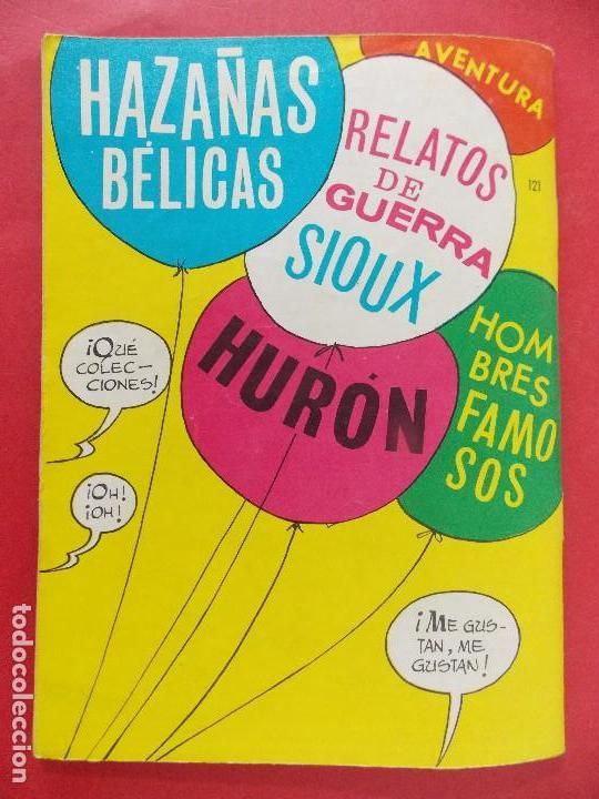 Tebeos: TEBEO, COMIC - SIOUX Nº 121 - 1968 - EL AUTENTICO VALOR - EDICIONES TORAY... R-8630 - Foto 6 - 115076931
