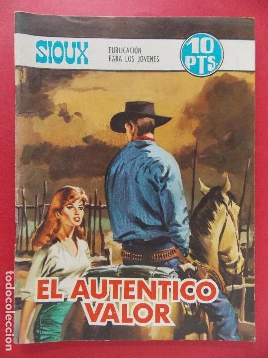 TEBEO, COMIC - SIOUX Nº 121 - 1968 - EL AUTENTICO VALOR - EDICIONES TORAY... R-8630 (Tebeos y Comics - Toray - Sioux)