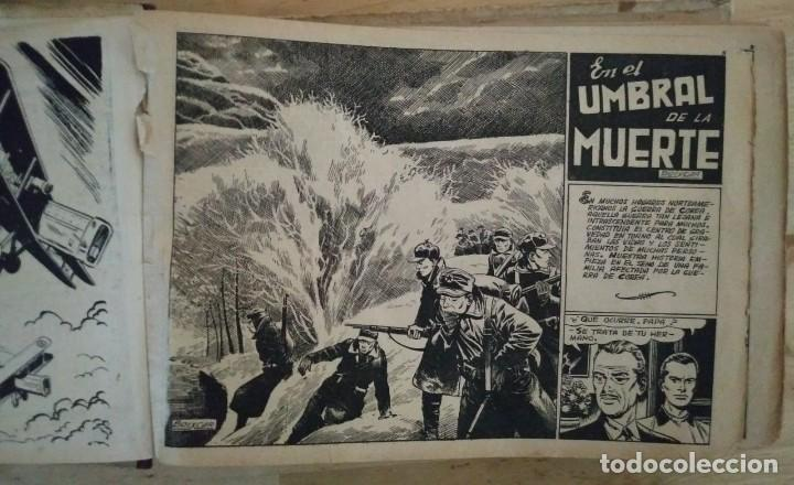 Tebeos: Hazañas Bélicas 25 numeros encuadernados del 76 al 100 mas almanaque 1954 que esta delante - Foto 5 - 115144015