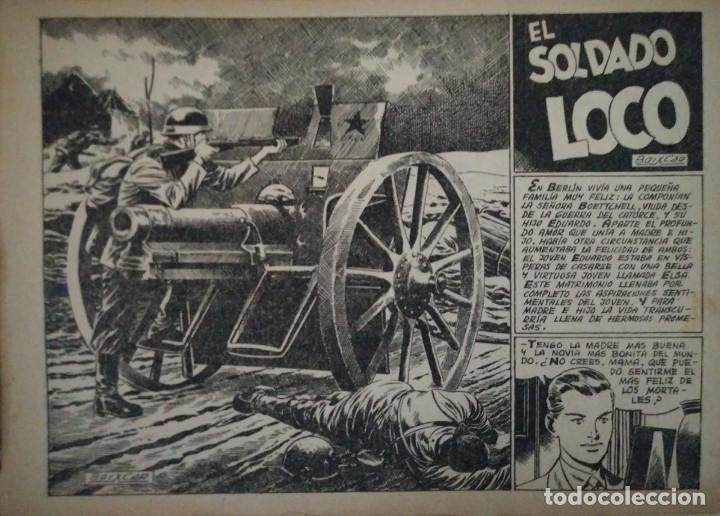Tebeos: Hazañas Bélicas 25 numeros encuadernados del 76 al 100 mas almanaque 1954 que esta delante - Foto 9 - 115144015