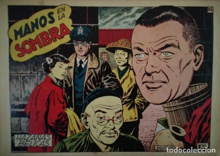 Tebeos: Hazañas Bélicas 25 numeros encuadernados del 76 al 100 mas almanaque 1954 que esta delante - Foto 15 - 115144015
