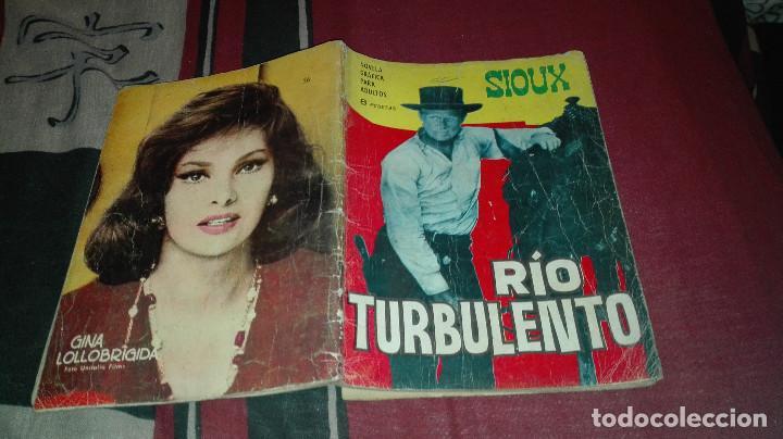 SIOUX Nº56 RIO TURBULENTO (Tebeos y Comics - Toray - Sioux)