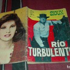 Tebeos: SIOUX Nº56 RIO TURBULENTO. Lote 115281059