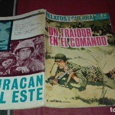 Tebeos: RELATOS DE GUERRA Nº132 UN TRAIDOR EN EL COMANDO. Lote 115281383