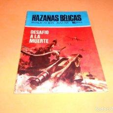 Tebeos: HAZAÑAS BÉLICAS Nº 229 DESAFIO A LA MUERTE. MUY BUEN ESTADO.. Lote 115551987