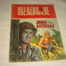 Tebeos: RELATOS DE GUERRA N° 226 . JUEGO DE ASTUCIAS. Lote 116155895