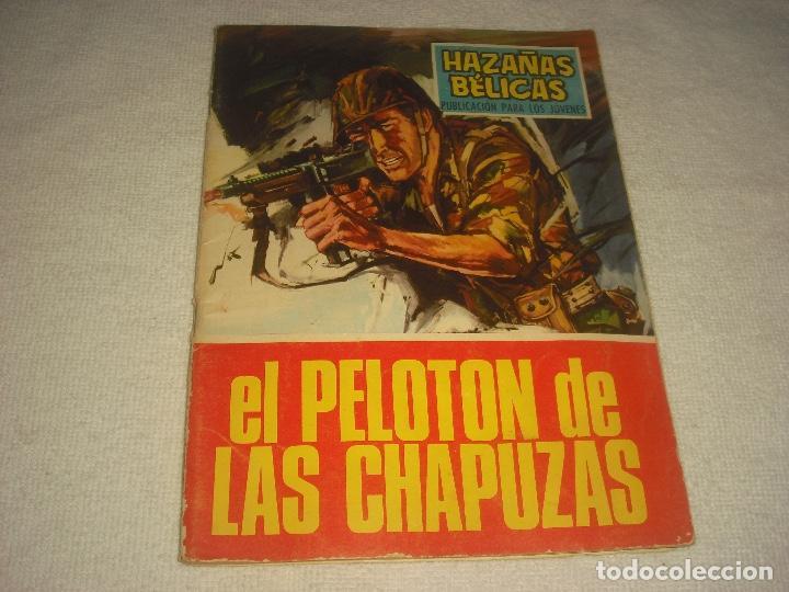 HAZAÑAS BELICAS N° 169 . EL PELOTON DE LAS CHAPUZAS (Tebeos y Comics - Toray - Hazañas Bélicas)