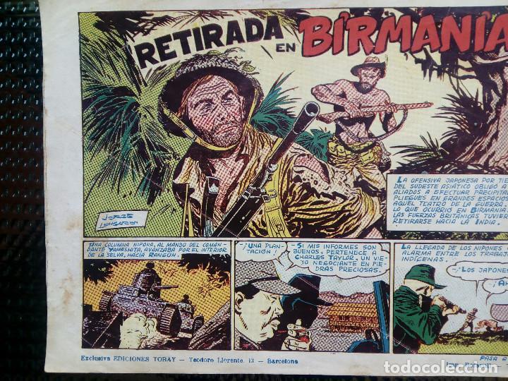 Tebeos: ALMANAQUE 1955 HAZAÑAS BELICAS , EDT. TORAY - ORIGINAL (M-1) - Foto 2 - 116205407