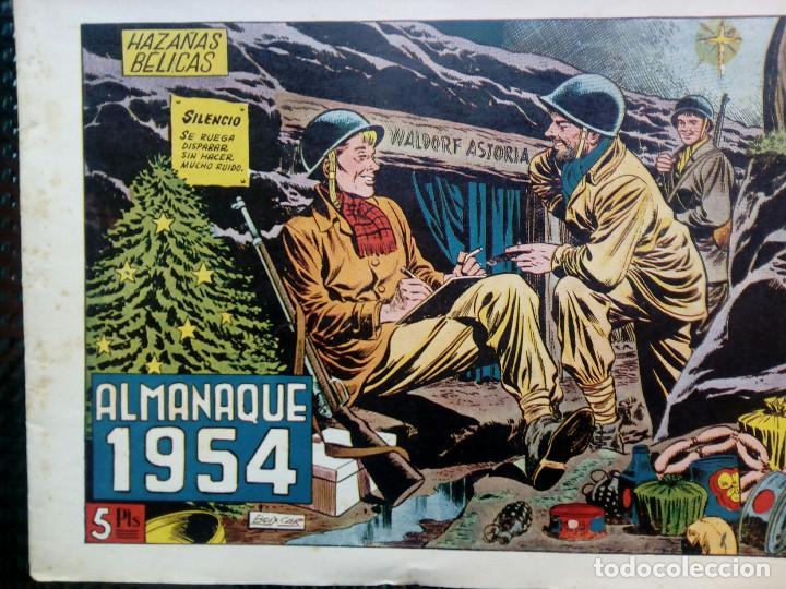 ALMANAQUE 1954 HAZAÑAS BELICAS , EDT. TORAY - ORIGINAL (M-1) (Tebeos y Comics - Toray - Hazañas Bélicas)