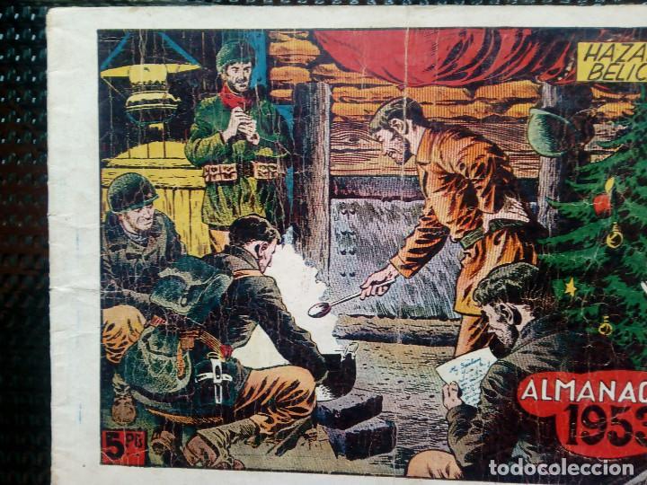 ALMANAQUE 1953 HAZAÑAS BELICAS , EDT. TORAY - ORIGINAL (M-1) (Tebeos y Comics - Toray - Hazañas Bélicas)