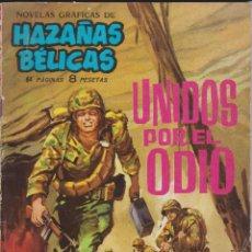 Tebeos: UNIDOS POR EL ODIO.NOVELA GRÁFICA.EDICIONES TORAY 1963. Lote 116240627