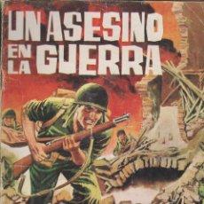 Tebeos: UN ASESINO EN LA GUERRA.NOVELA GRÁFICA.EDICIONES TORAY 1964. Lote 116240783