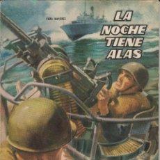 Tebeos: LA NOCHE TIENE ALAS.NOVELA GRÁFICA.EDICIONES TORAY 1961. Lote 116240939