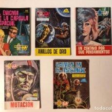 Tebeos: ROBOT 76 - LOTE CON 5 NÚMEROS: 6, 9, 10, 12 Y 14. EDICIONES TORAY 1967.. Lote 116263755