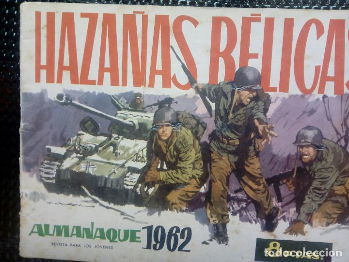 ALMANAQUE 1962 HAZAÑAS BELICAS , EDT. TORAY - ORIGINAL (M-1) (Tebeos y Comics - Toray - Hazañas Bélicas)
