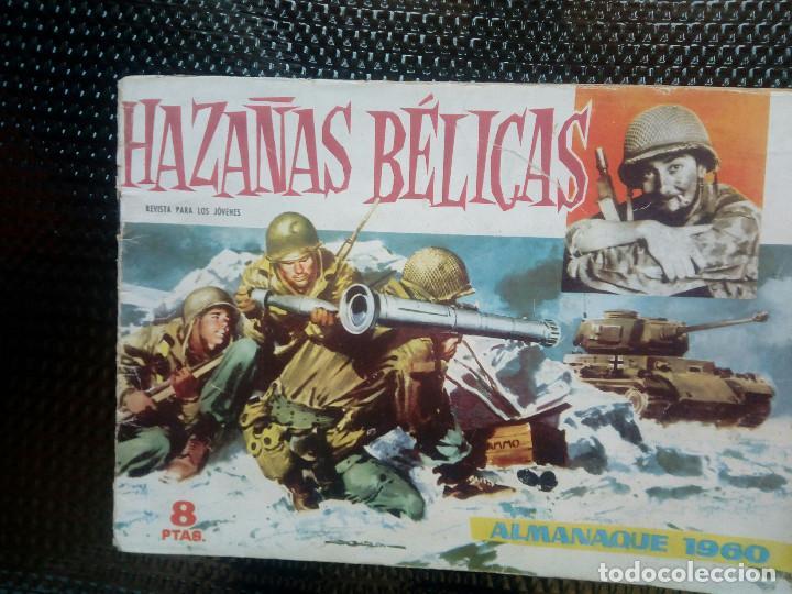 ALMANAQUE 1960 HAZAÑAS BELICAS , EDT. TORAY - ORIGINAL (M-1) (Tebeos y Comics - Toray - Hazañas Bélicas)