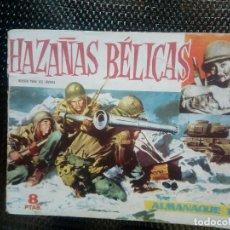Tebeos: ALMANAQUE 1960 HAZAÑAS BELICAS , EDT. TORAY - ORIGINAL (M-1). Lote 116273527