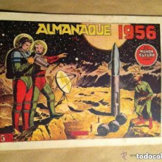 Tebeos: MUNDO FUTURO - ALMANAQUE 1956. Lote 116407039