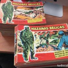 Tebeos: HAZAÑAS BÉLICAS SERIE ROJA COLECCION CASI COMPLETA 153 EJEMPLARES DE 160 (ORIGINAL TORAY) (COI63). Lote 116534235